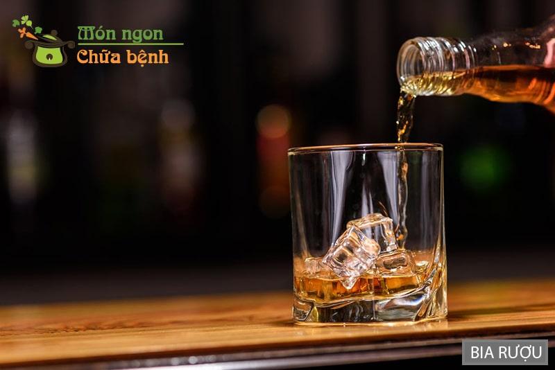 Bia rượu làm giảm chức năng sinh lý của cơ thể