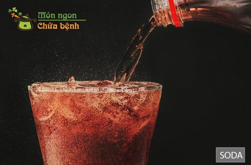 Các loại soda uống nhiều sẽ làm giảm nhu cầu sinh lý