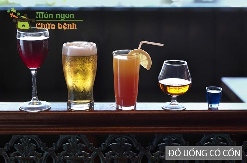 Đồ uống có cồn sẽ giúp giảm nhu cầu sinh lý
