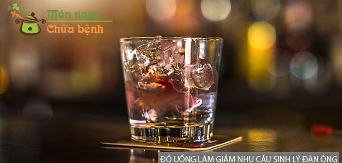 Những loại đồ uống làm giảm nhu cầu sinh lý đàn ông