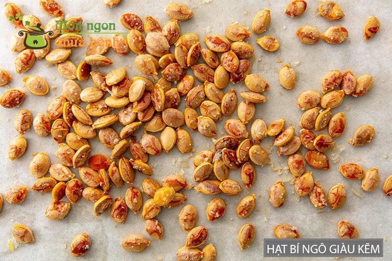 Hạt bí ngô giàu kẽm cải thiện chất lượng tinh trùng