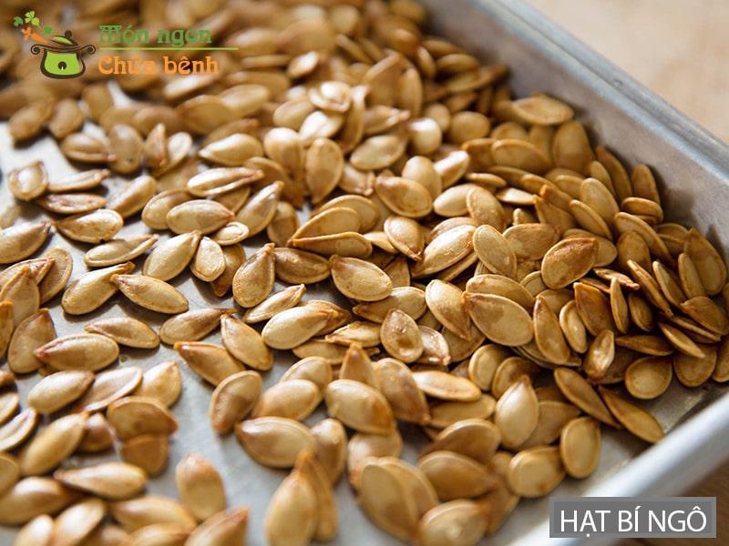 Hạt bí ngô có nhiều công dụng tốt cho sức khỏe
