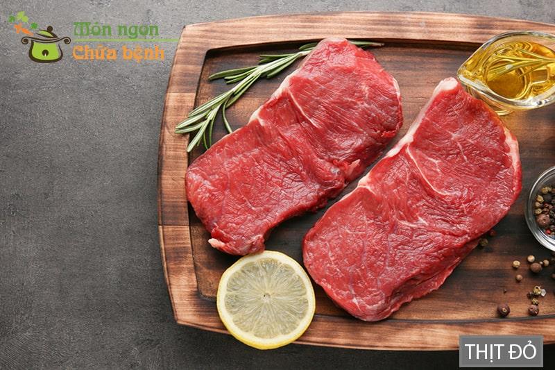 Thịt đỏ giúp tăng cường chức năng sinh lý