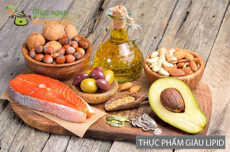 Thực phẩm giàu chất béo (lipid)