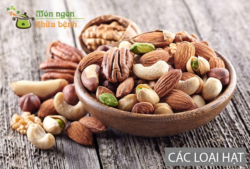 Các loại hạt rất tốt cho người tập cơ bắp