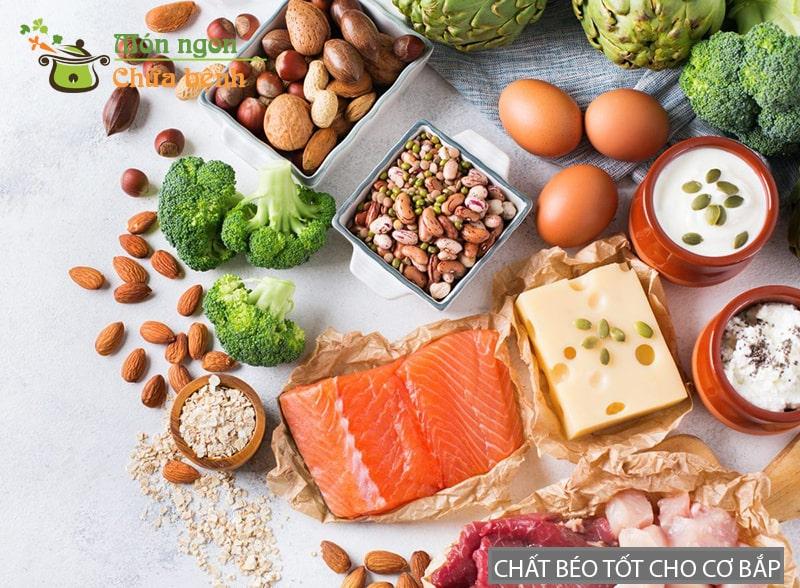 Muốn tăng cường cơ bắp bạn nên bổ sung chất béo thực vật