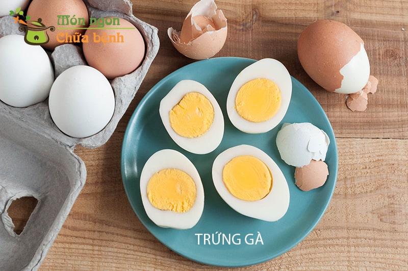 Trứng là thực phẩm rất quan trọng khi tập cơ bắp