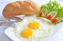 Lợi ích tuyệt vời cho sức khỏe của việc ăn trứng vào bữa sáng