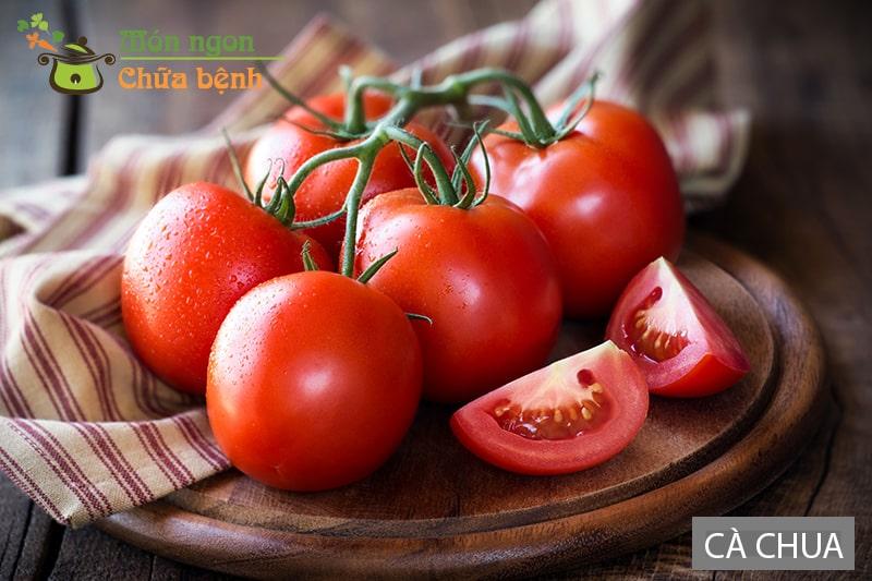 Cà chua giúp tăng cường sức khỏe nam giới