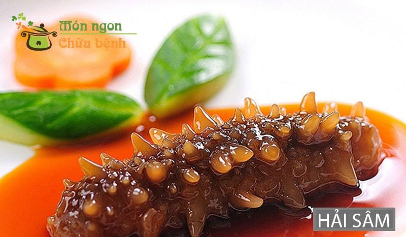 Hải sâm chứa nhiều chất dinh dưỡng tốt cho sức khỏe nam giới