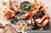 9 loại hải sản tăng cường sinh lý nam cực tốt