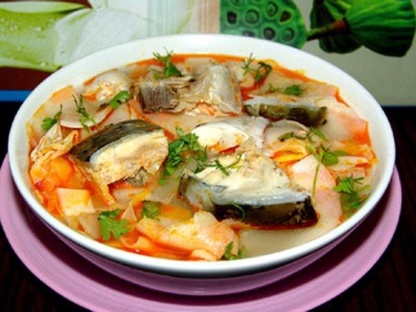 Bún đầu cá hồi - món ngon bổ dưỡng cho sức khỏe