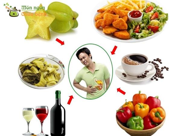 Người mắc bệnh đau dạ dày không nên ăn gì?
