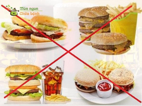 Những thực phẩm người đau dạ dày nên tránh