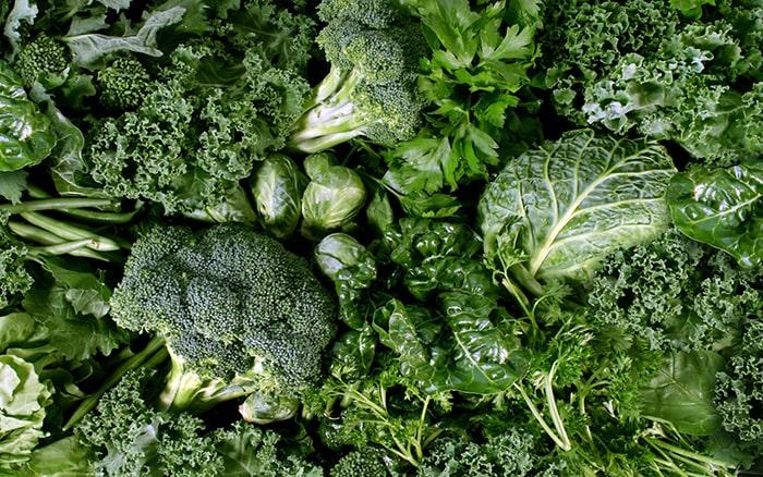 Các loại rau màu xanh giúp chống lại sự tích tụ chất béo