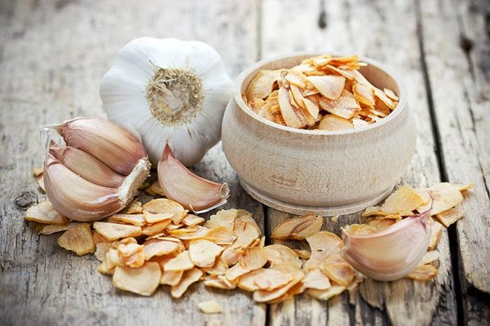 Tỏi giúp giảm lượng chất béo trong gan
