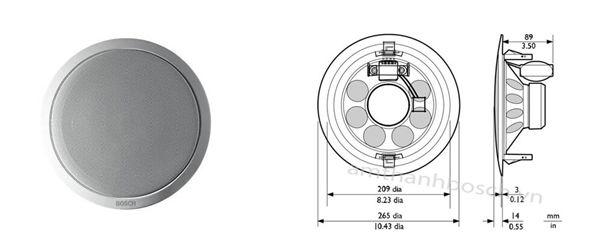 Loa âm trần Bosch LBC 3099/41