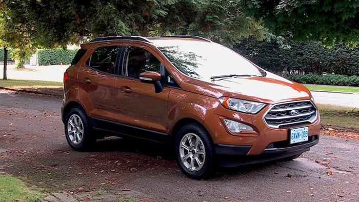 Ford EcoSport phù hợp với đường phố Việt Nam