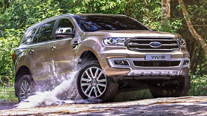 Ford Everest mang lại cảm giác mạnh mẽ, khỏe khoắn