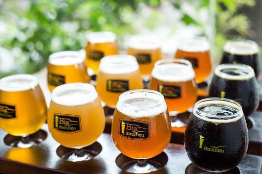 Bia thủ công thường tinh tế hơn bia phổ thông rất nhiều