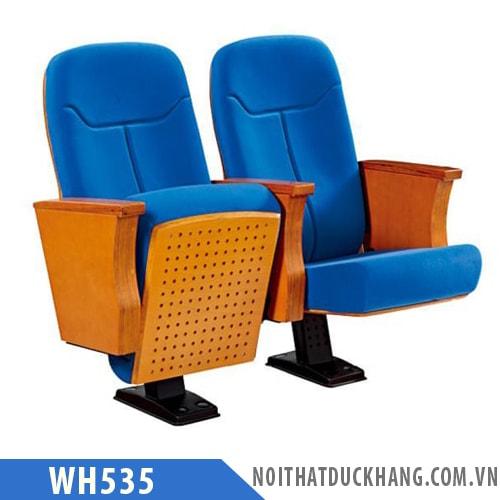 Ghế hội trường WH535 đệm ngồi mặt lật