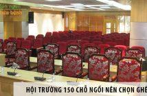 Thiết kế hội trường 150 chỗ ngồi nên chọn ghế gì? 1