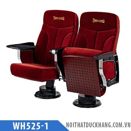 Ghế hội trường WH525-1 chân trụ bám sàn