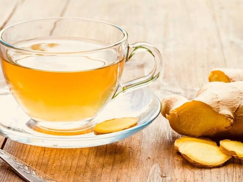 Cách pha trà gừng có lợi cho sức khỏe