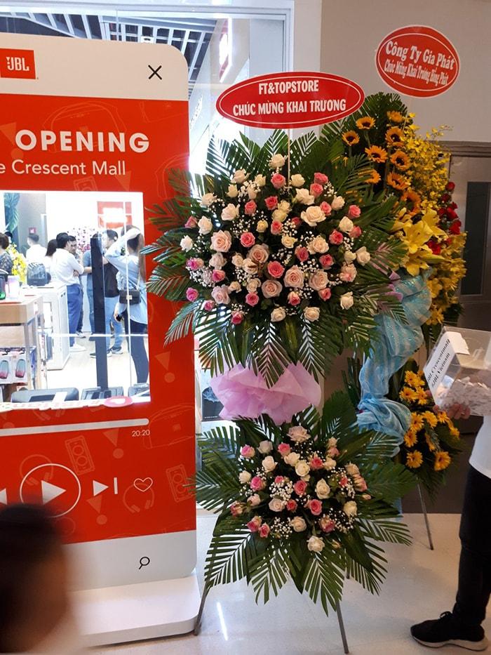 Điện hoa Nét Việt đa dạng các loại hoa, kiểu dáng hoa khai trương